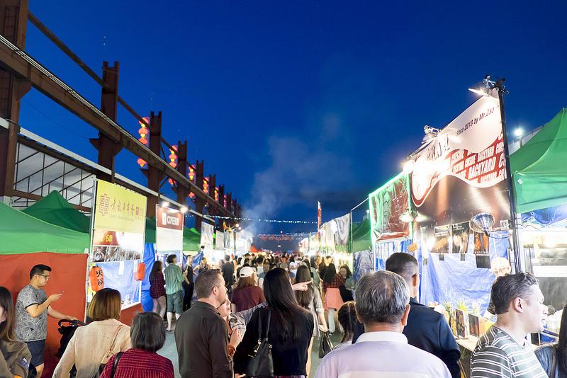 Night Market Food Area