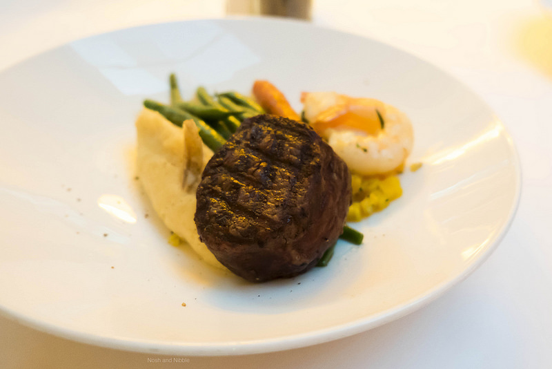 Filet Mignon 6oz and Jumbo Tiger Prawns