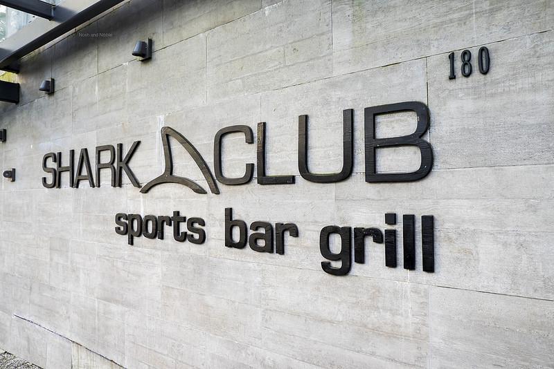 Outside Shark Club
