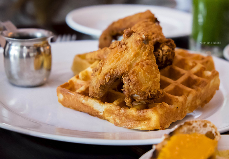 Pollo and Waffles