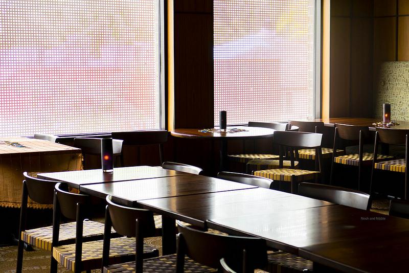 Inside Vij's Restaurant