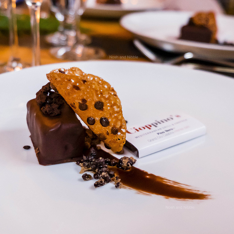 PinoNero Chocolate and Lentil Trio