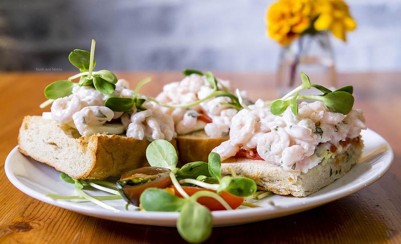 Ocean Wise Shrimp Sandwich