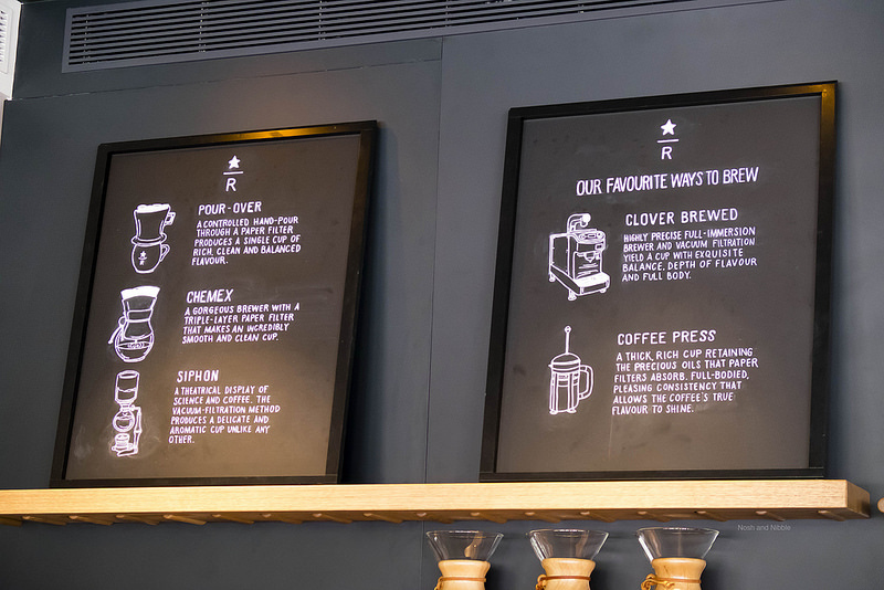 Starbucks Brewing Methods