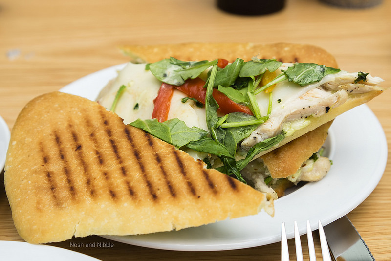 Herb Roasted Chicken Breast Sandwich