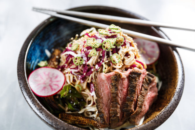 Deighton Cup 63 Acres Steak Soba Noodle Salad