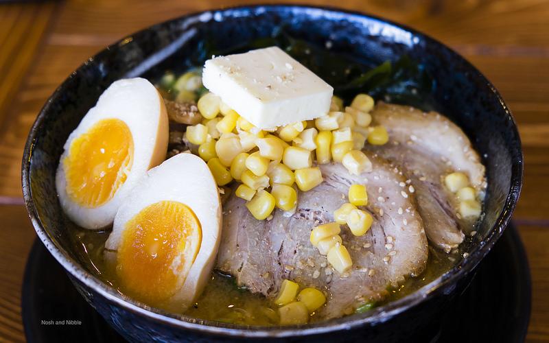 Butter Corn Miso Ramen