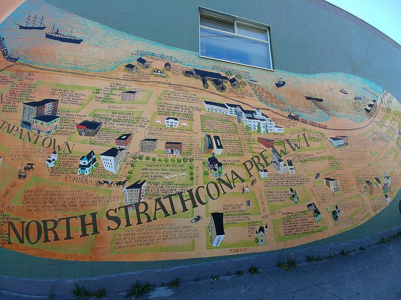 Strathcona Wall Mural