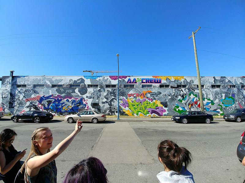 Transformers-inspired Mural