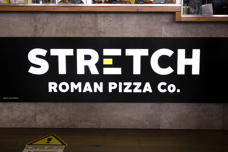 Inside Stretch Roman Pizza Co.