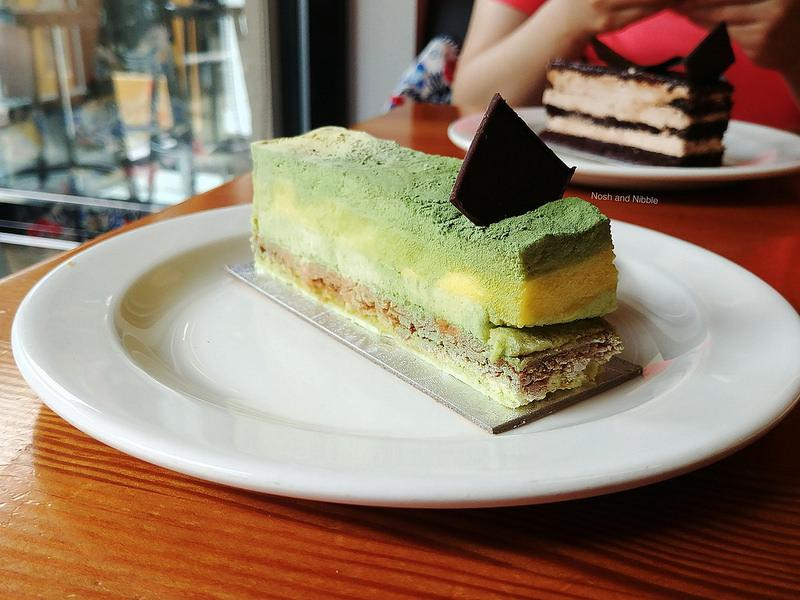 Matcha Yuzu Cake