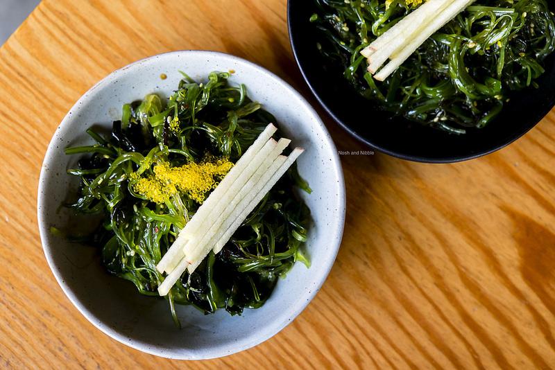 Umi Salad with Yuzu Tobiko