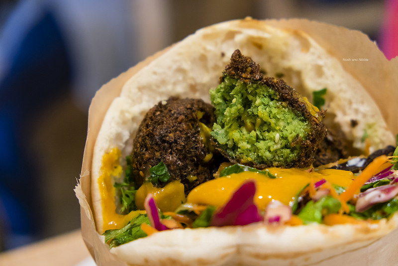 Falafel Close-Up
