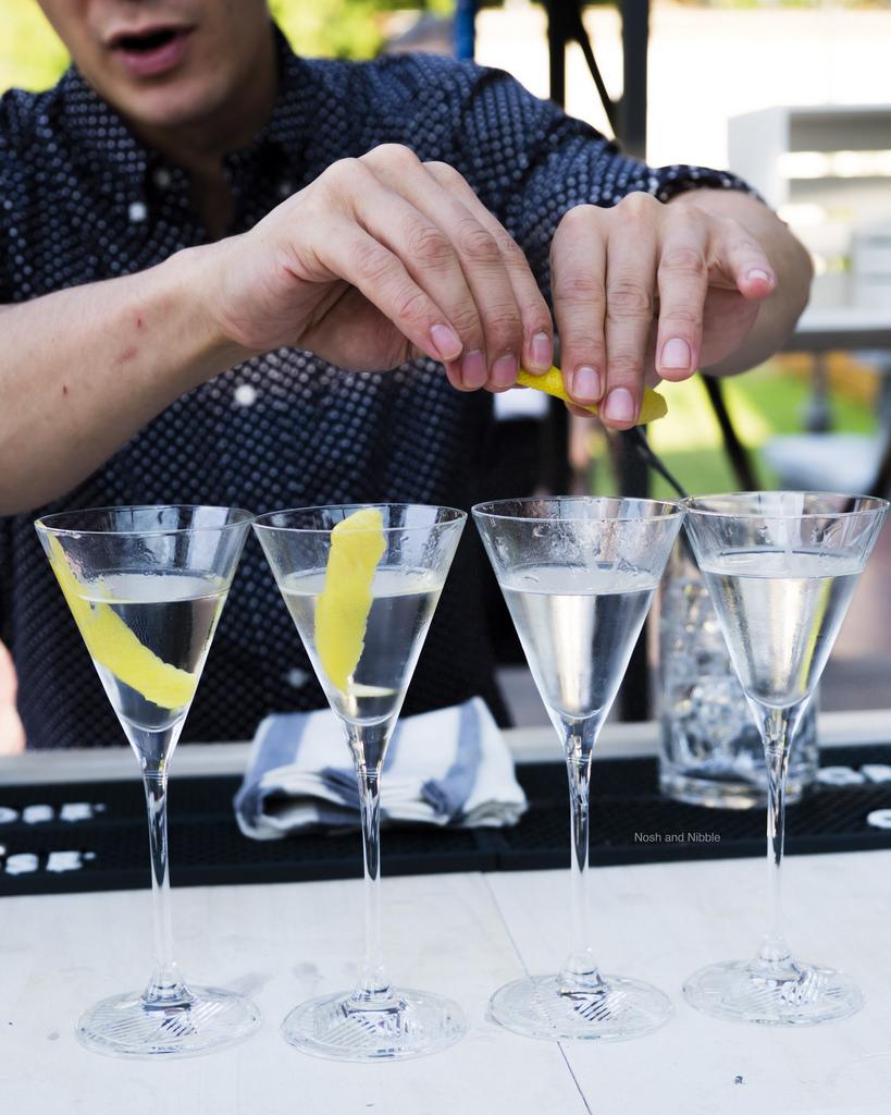 Grey Goose Martinis