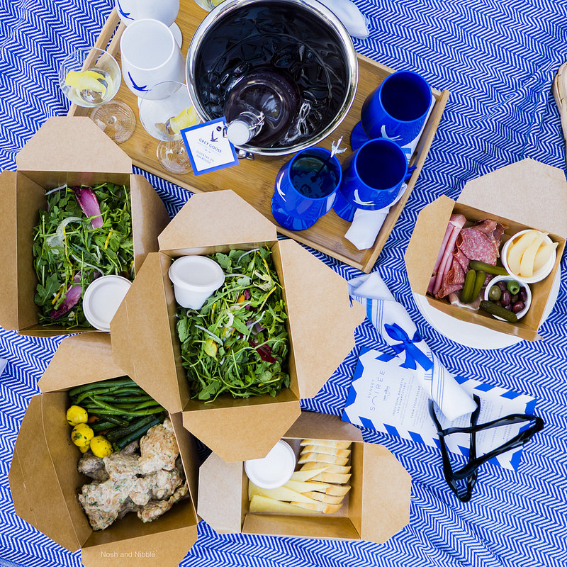 Sunset Soiree Picnic Spread