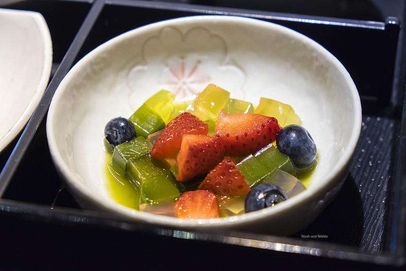 Hojicha Fruit Jelly Medley