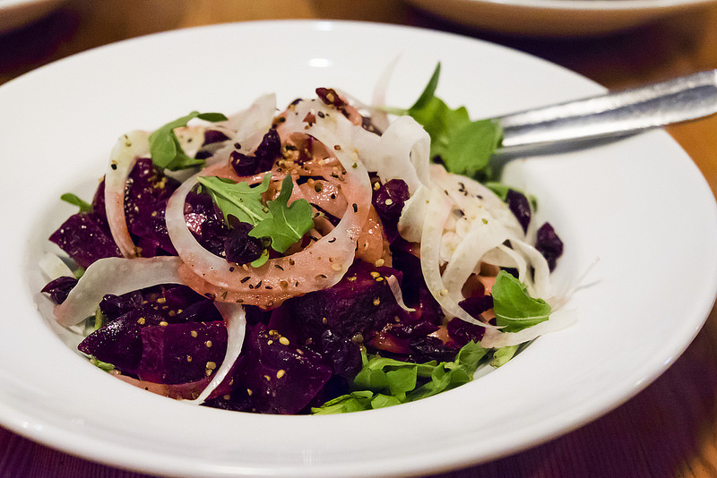 rocky-mountain-flatbread-beet-and-arugula-salad