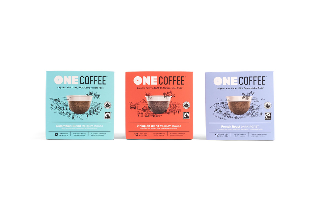 OneCoffee 100% Compostable Coffee Pods
