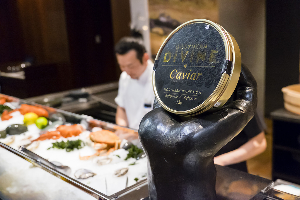 victor-opening-party-caviar