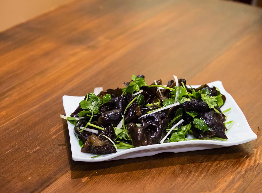 peaceful-restaurant-woodear-mushroom-salad