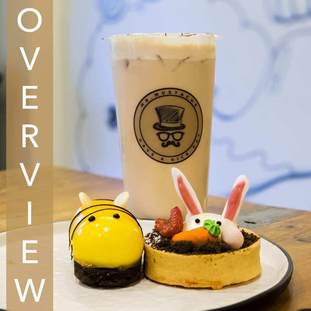 Mr. Mustache Tea and Dessert Burnaby