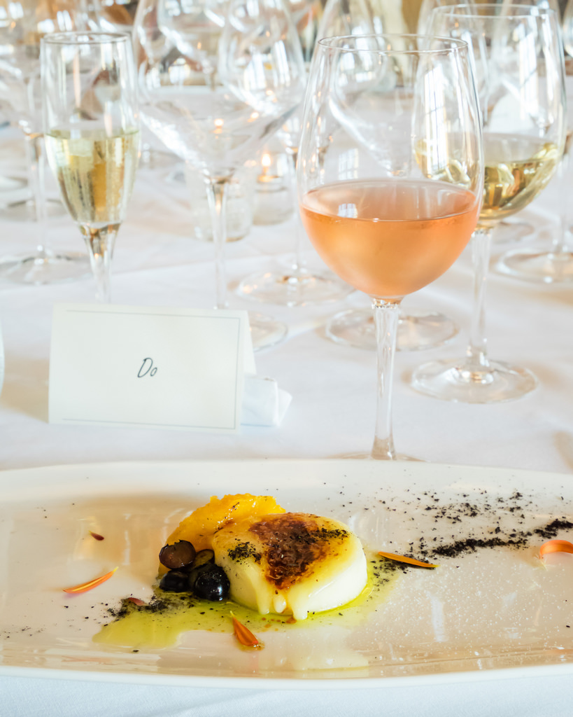semiahmoo-winemaker-dinner-brie-brulee-rose-of-pinot-noir