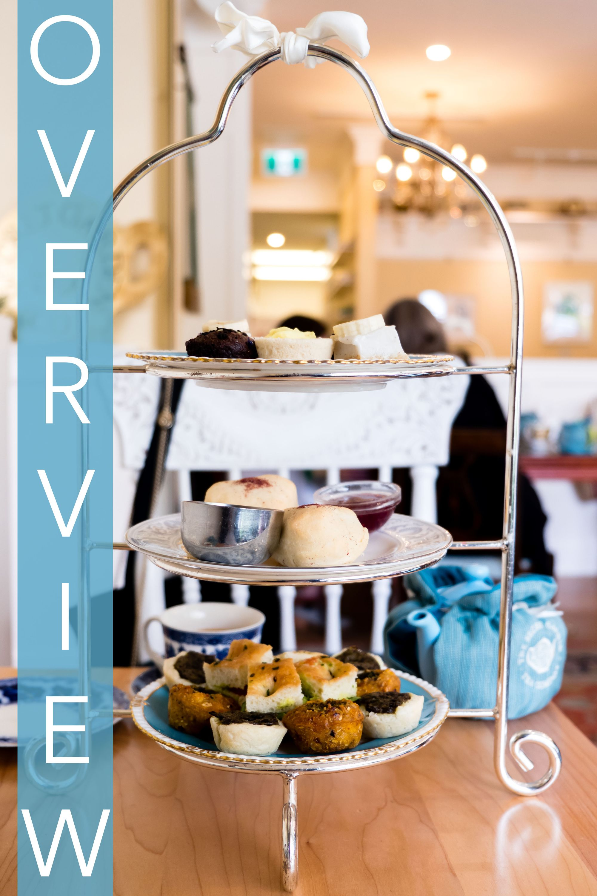 Secret Garden Vegan High Tea Vancouver