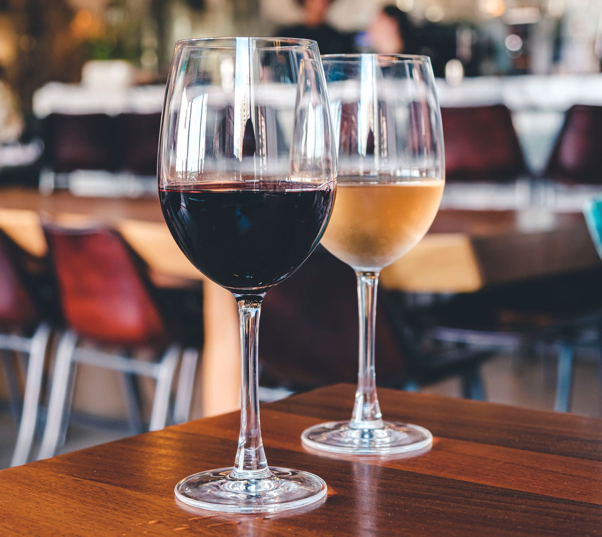 M8 Wine (Tempranillo in front)
