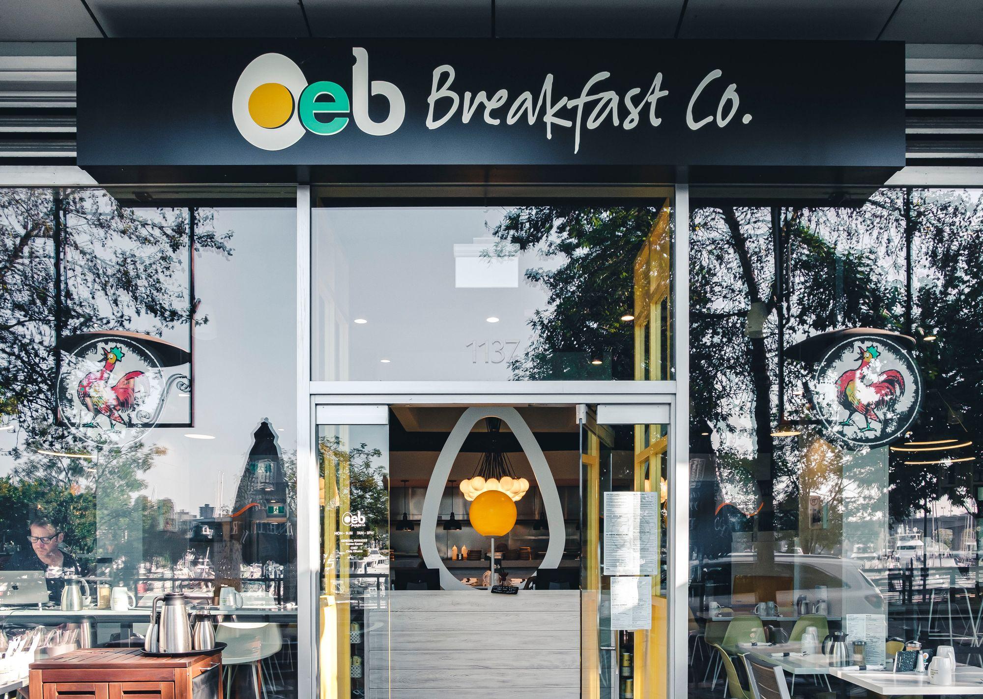 Outside OEB Breakfast Co.