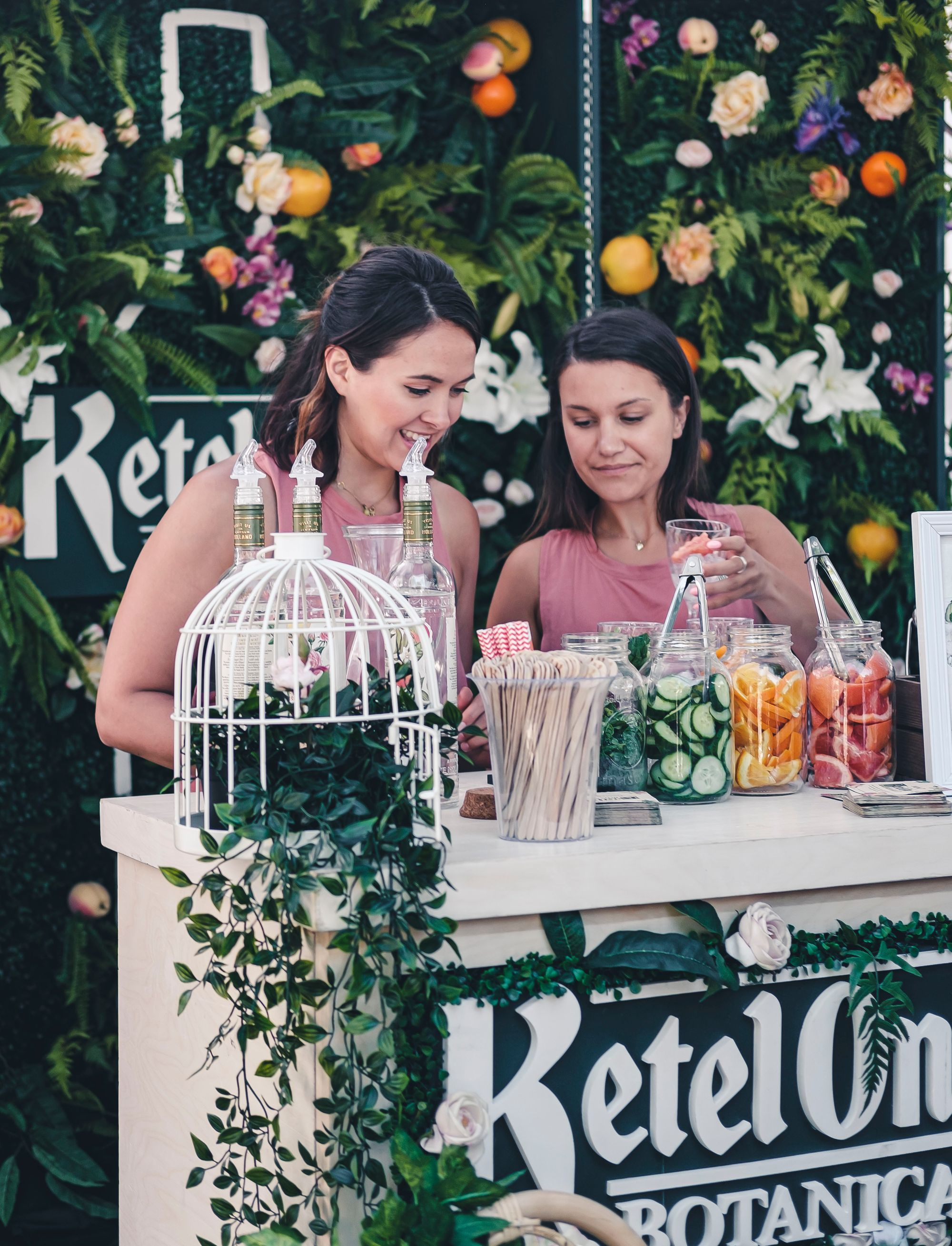 KetelOne Botanical Booth