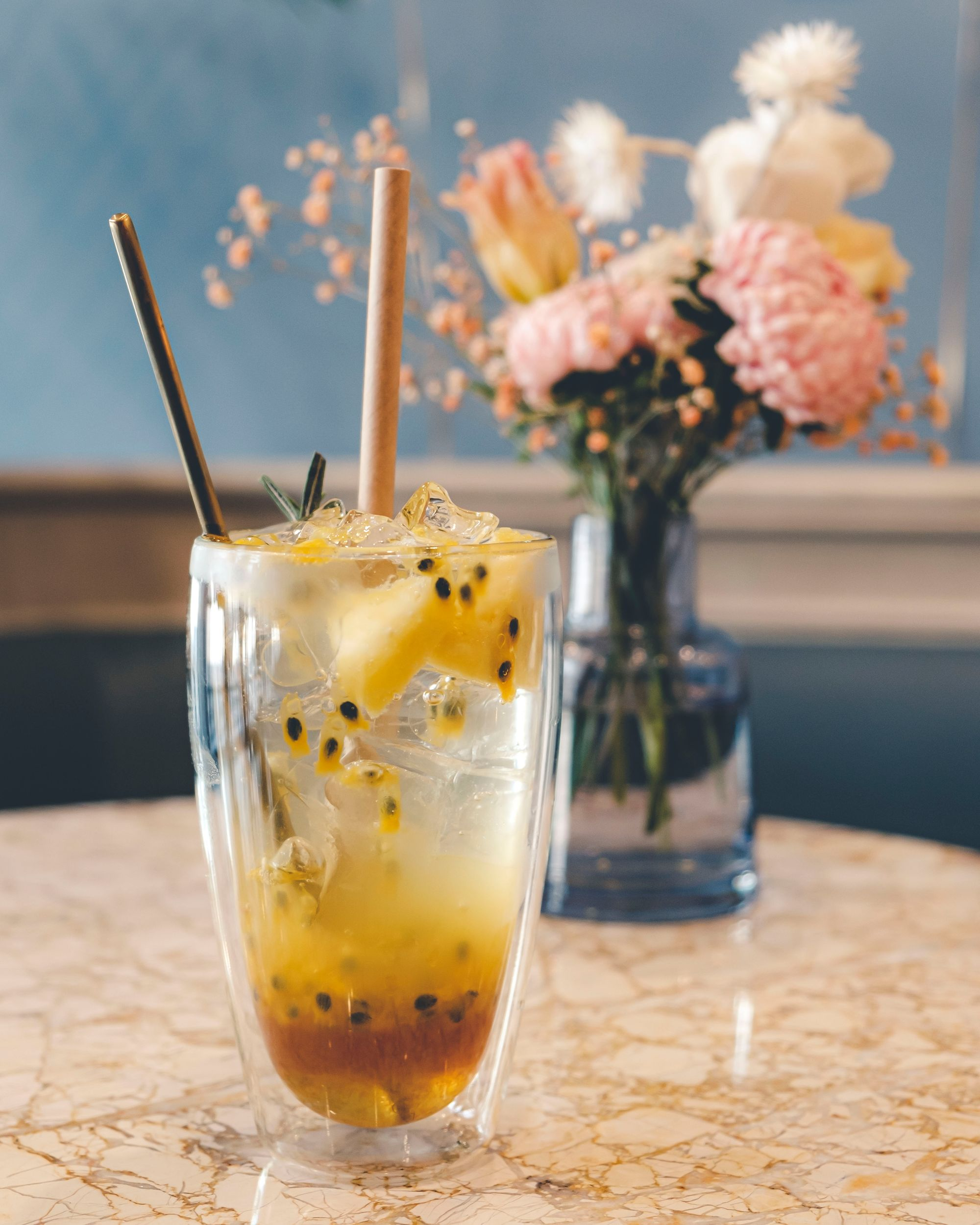 Passionfruit Pineapple Soda