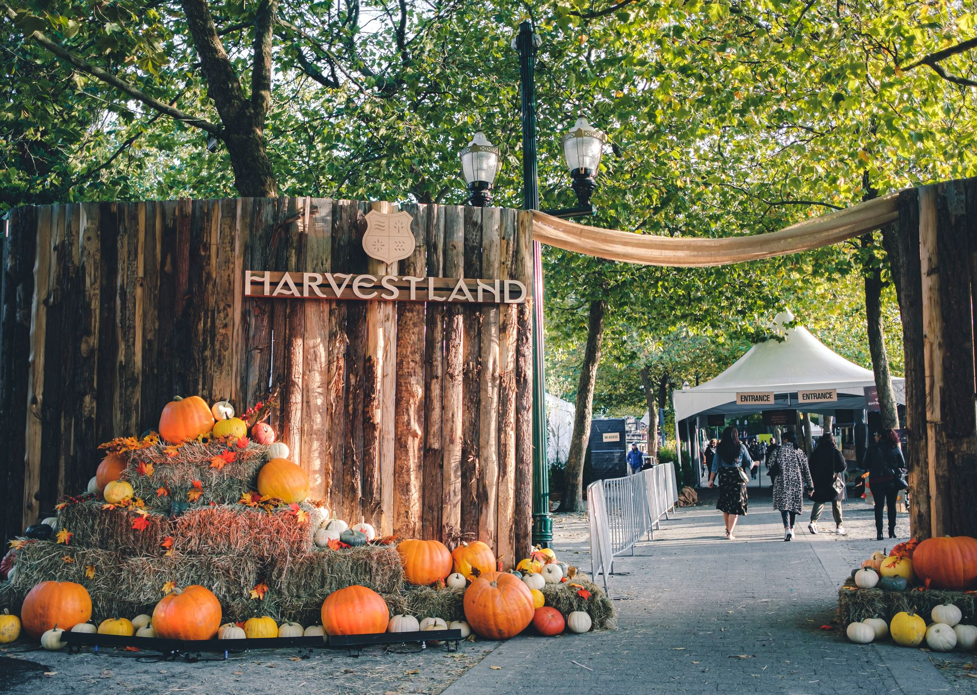 Harvestland and Harvest Haus Entrance