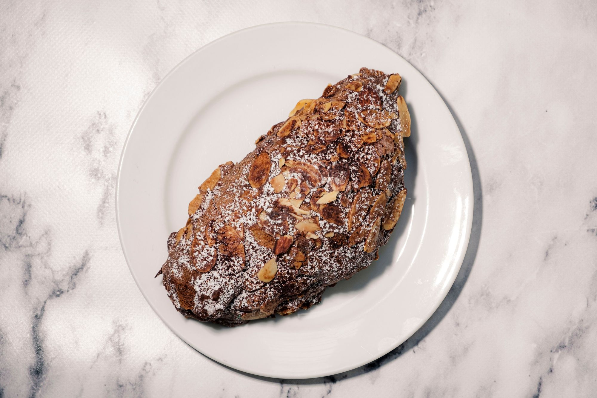 BjornBar Bakery Tiramisu Croissant - Overhead