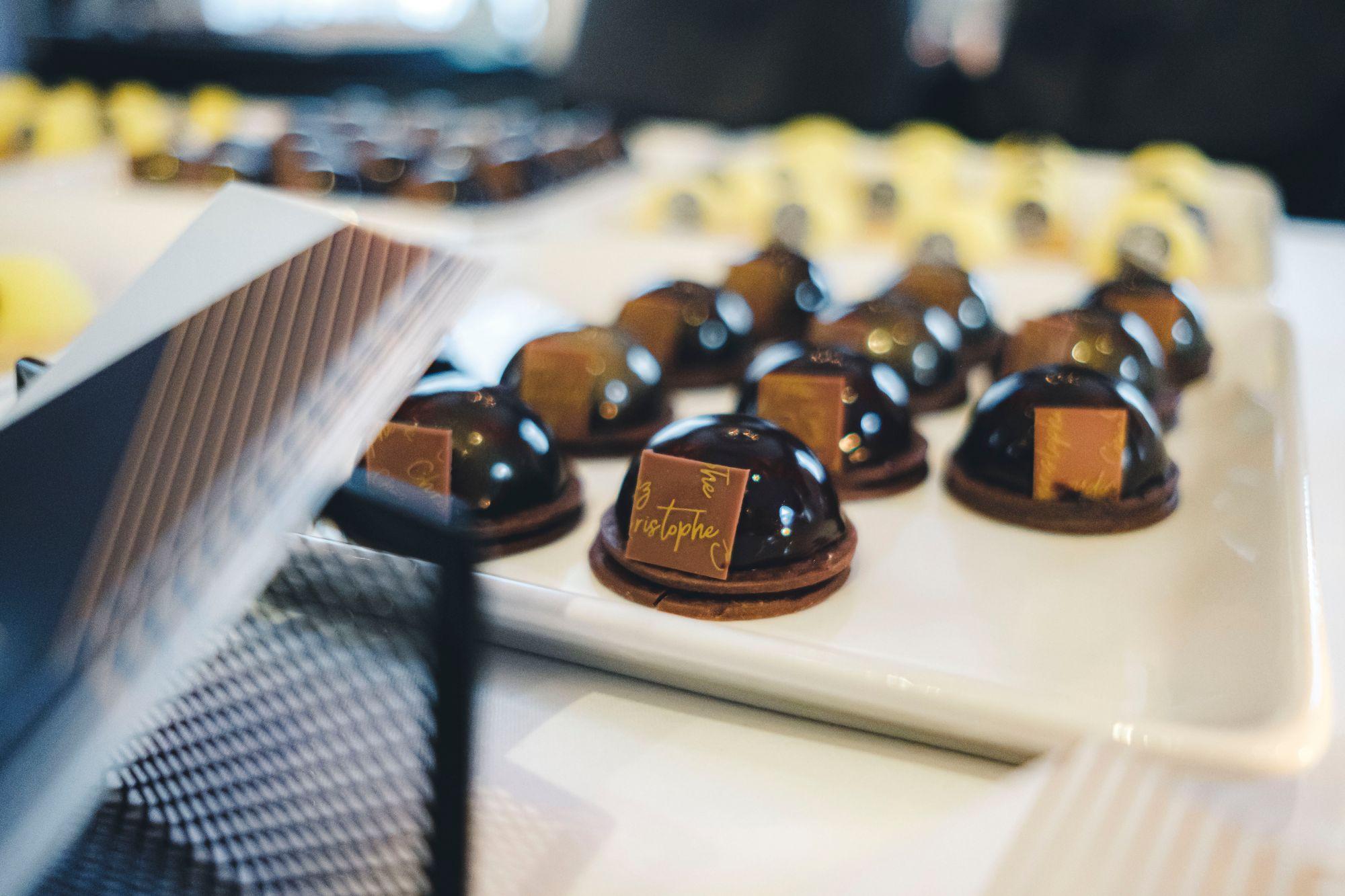 Chez Christophe Chocolate Tarts