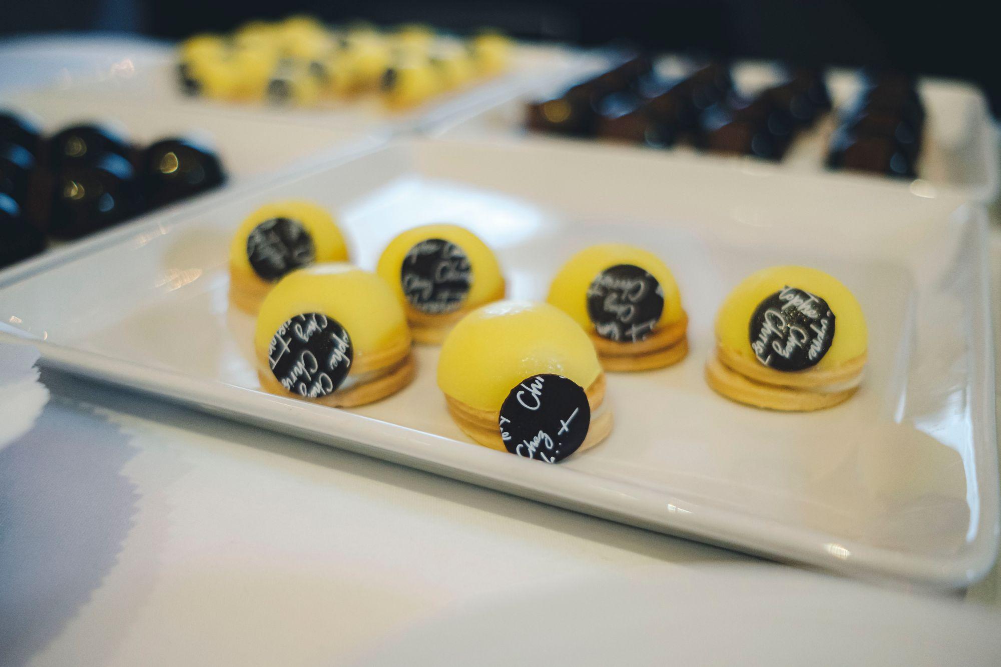 Chez Christophe Yuzu Lemon Tarts