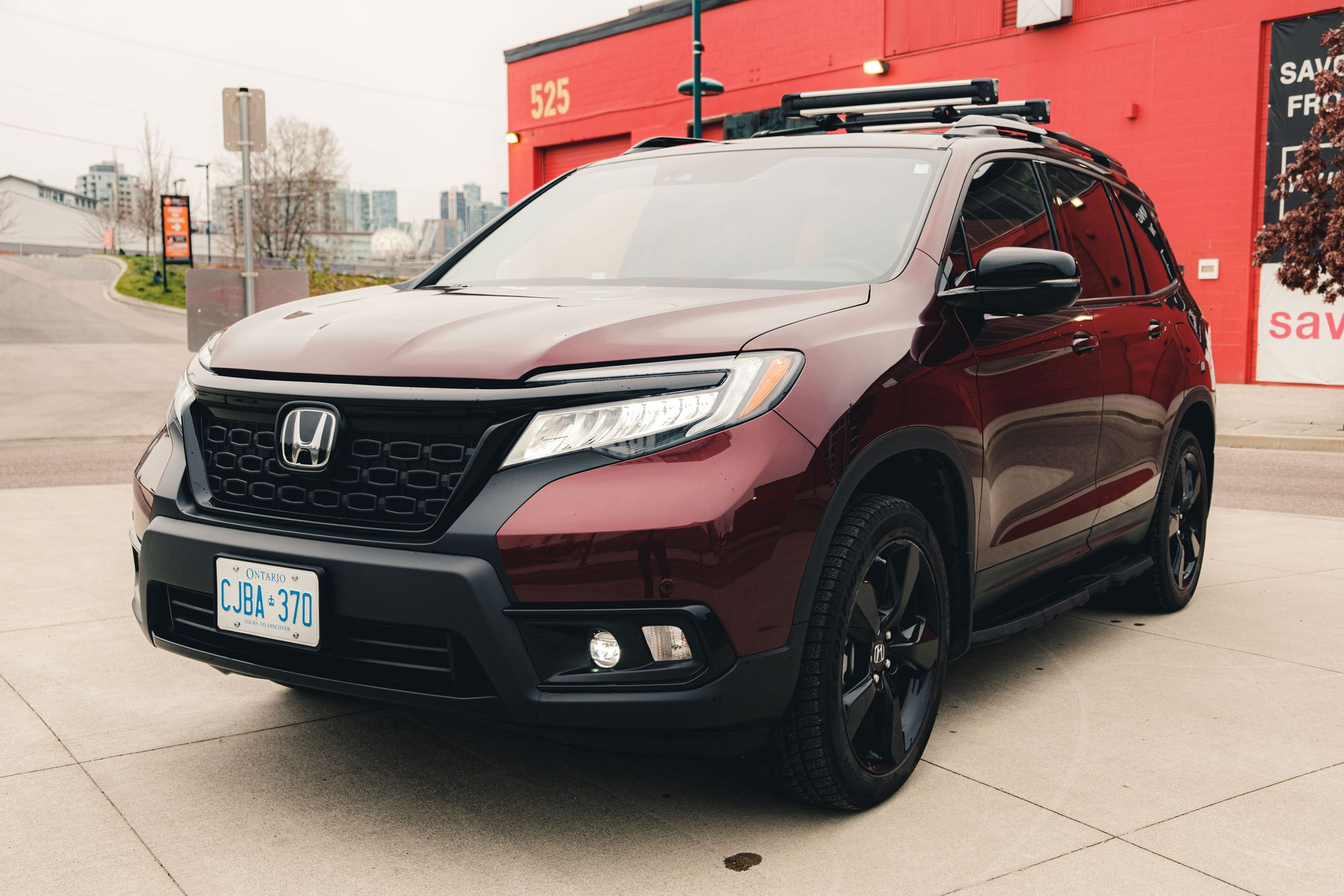Honda Passport Driver Side