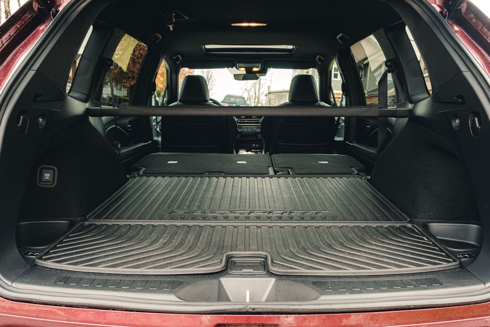Honda Passport Trunk w/ Folded Down Seats