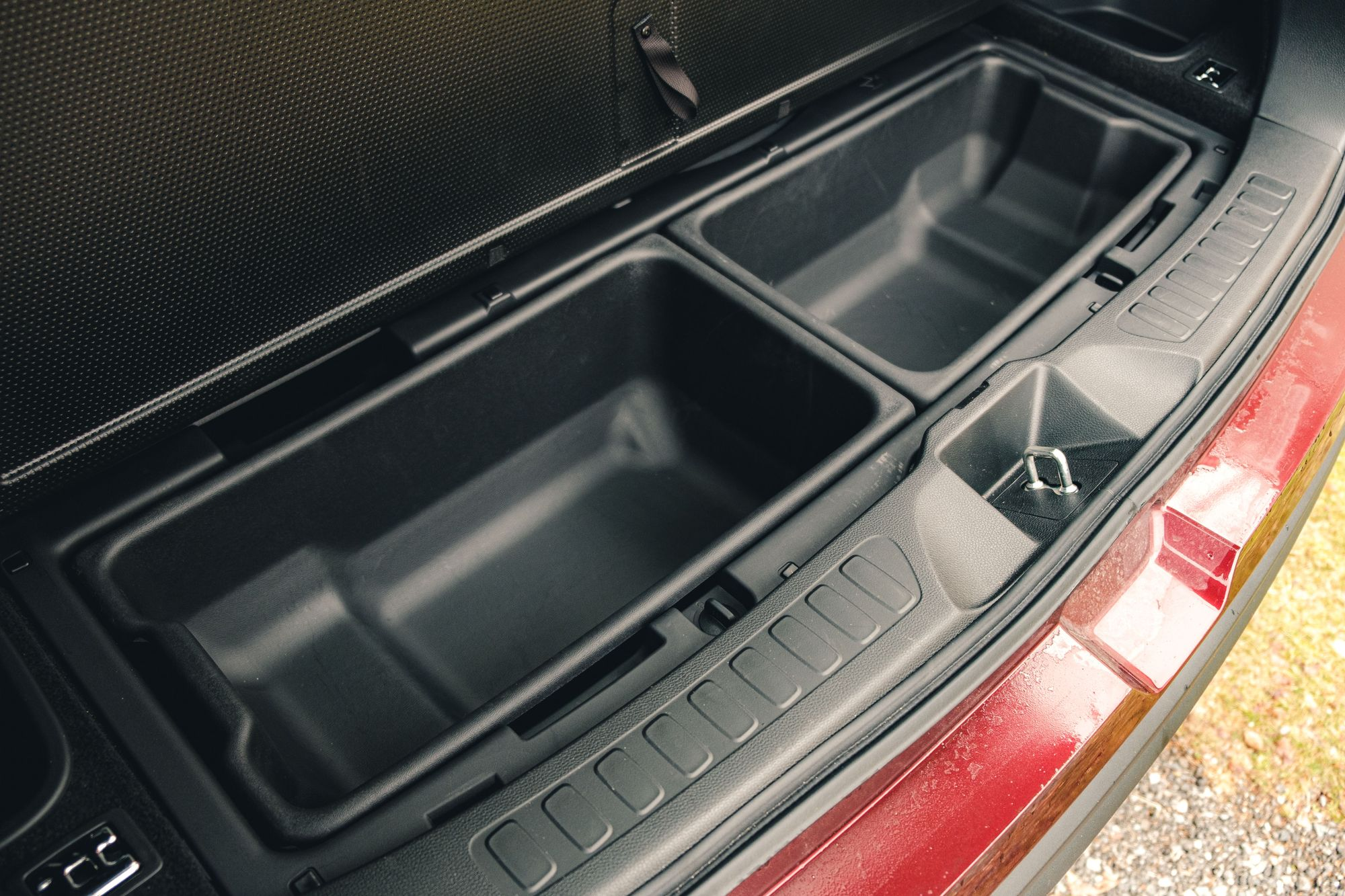 Honda Passport Extra Storage