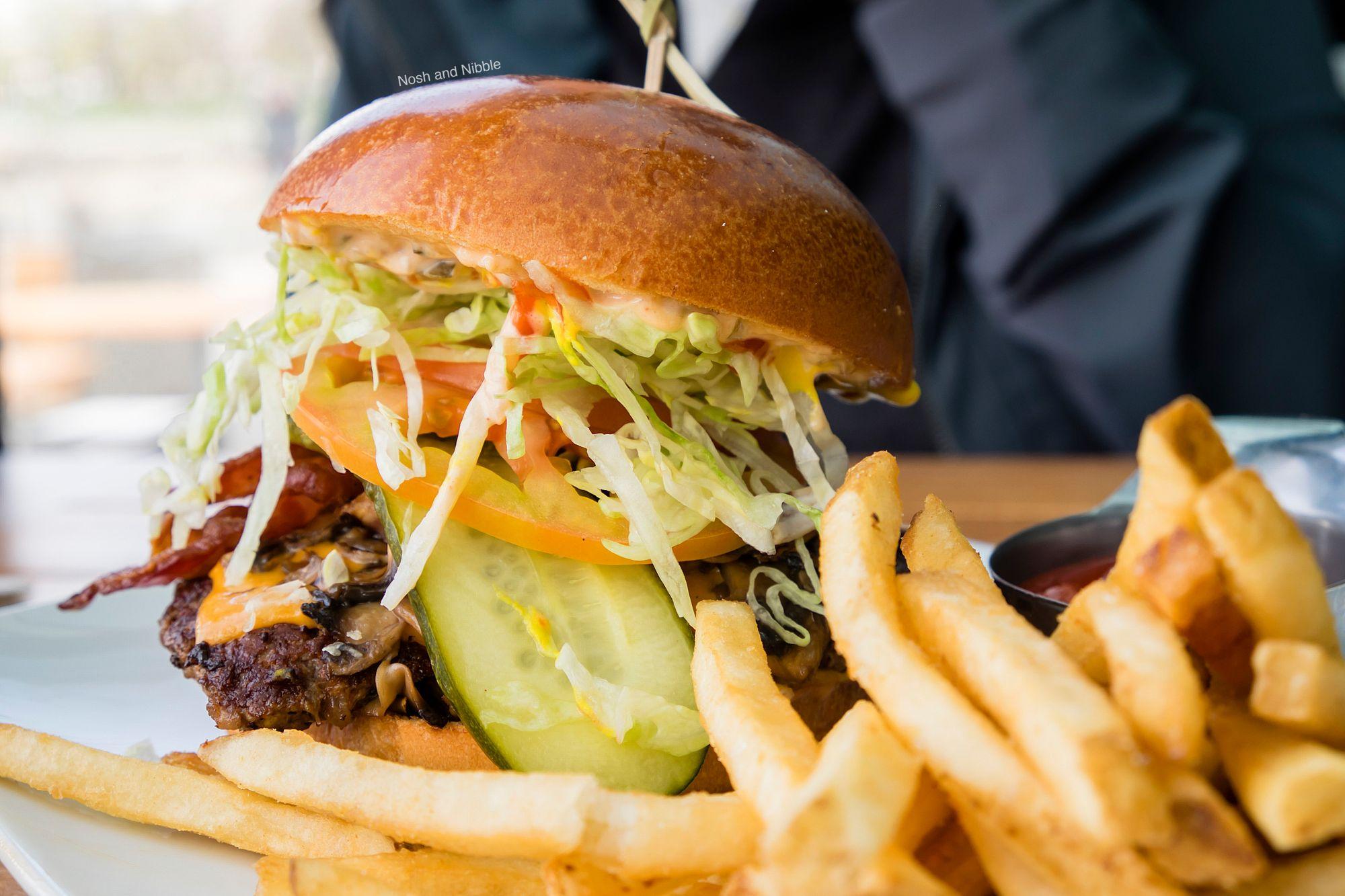 Cactus Club Cafe Feenie Burger ($19.75)