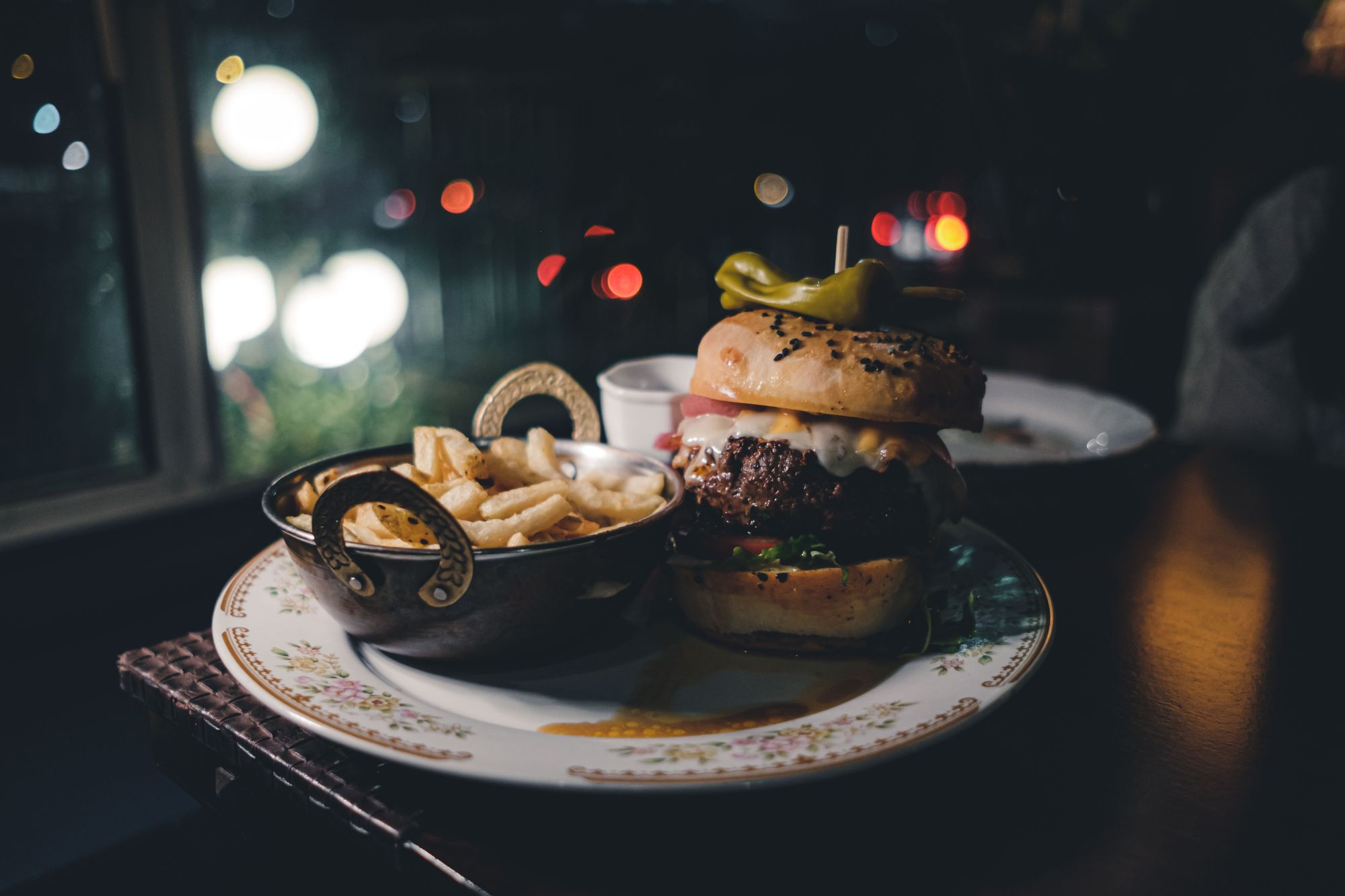 The Red Accordion TRA Burger ($22)