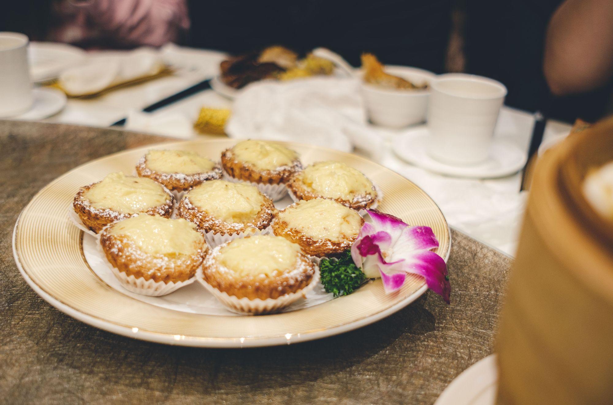 Baked Durian Tarts