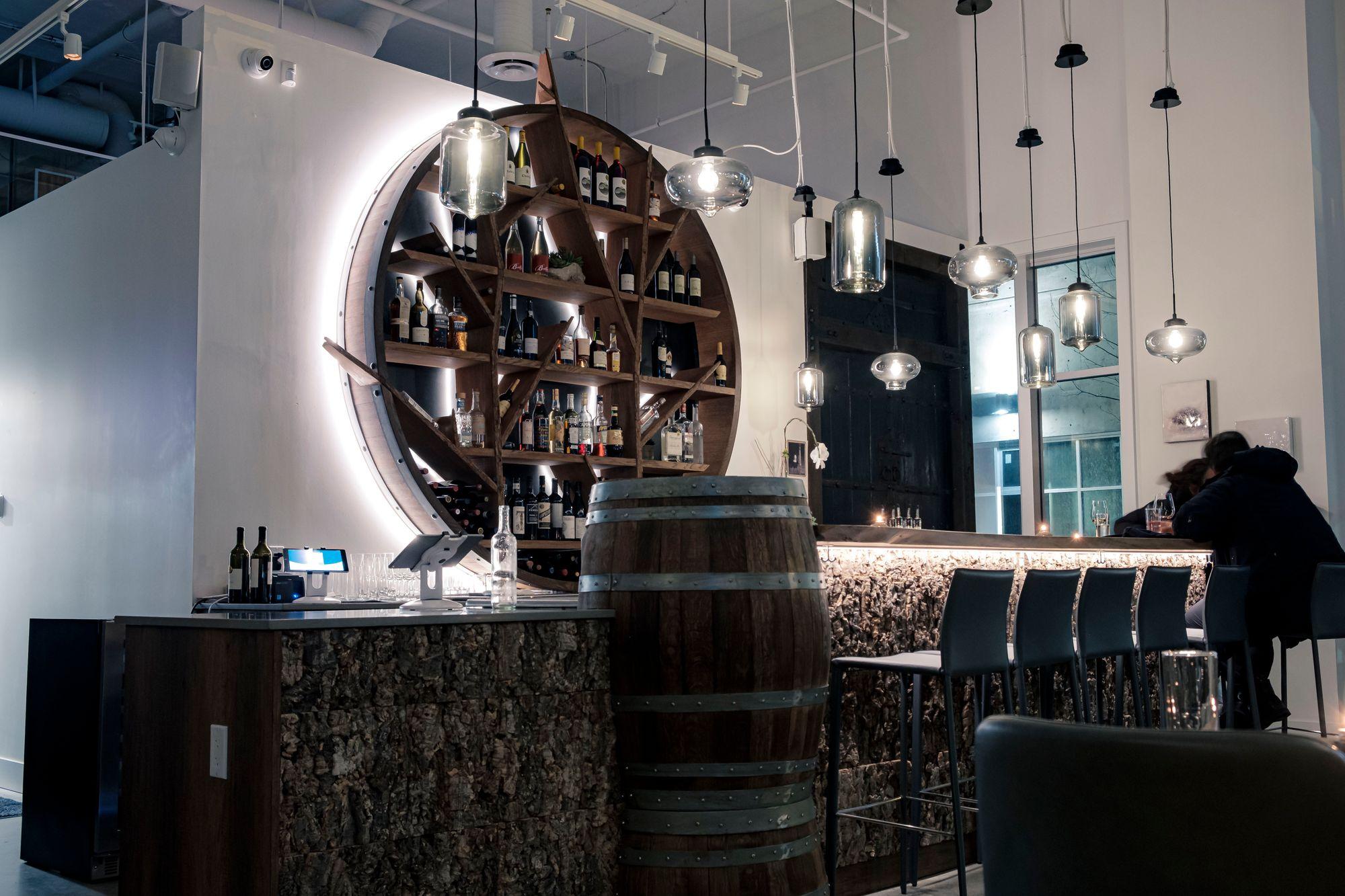 Inside VV Tapas Lounge