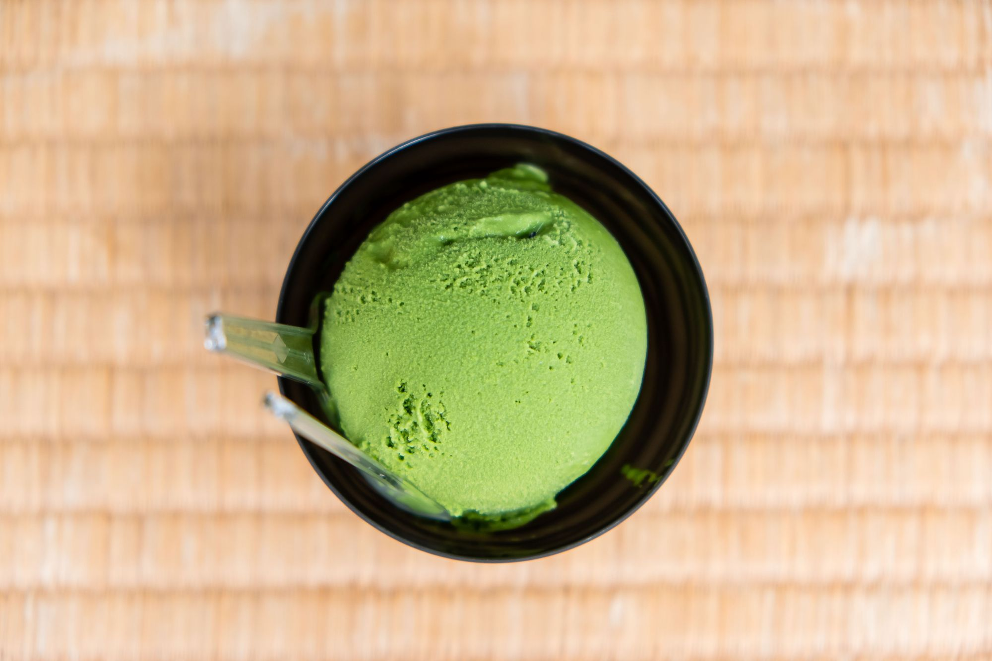 Level 4 Matcha Ice Cream from Suzukien Asakusa