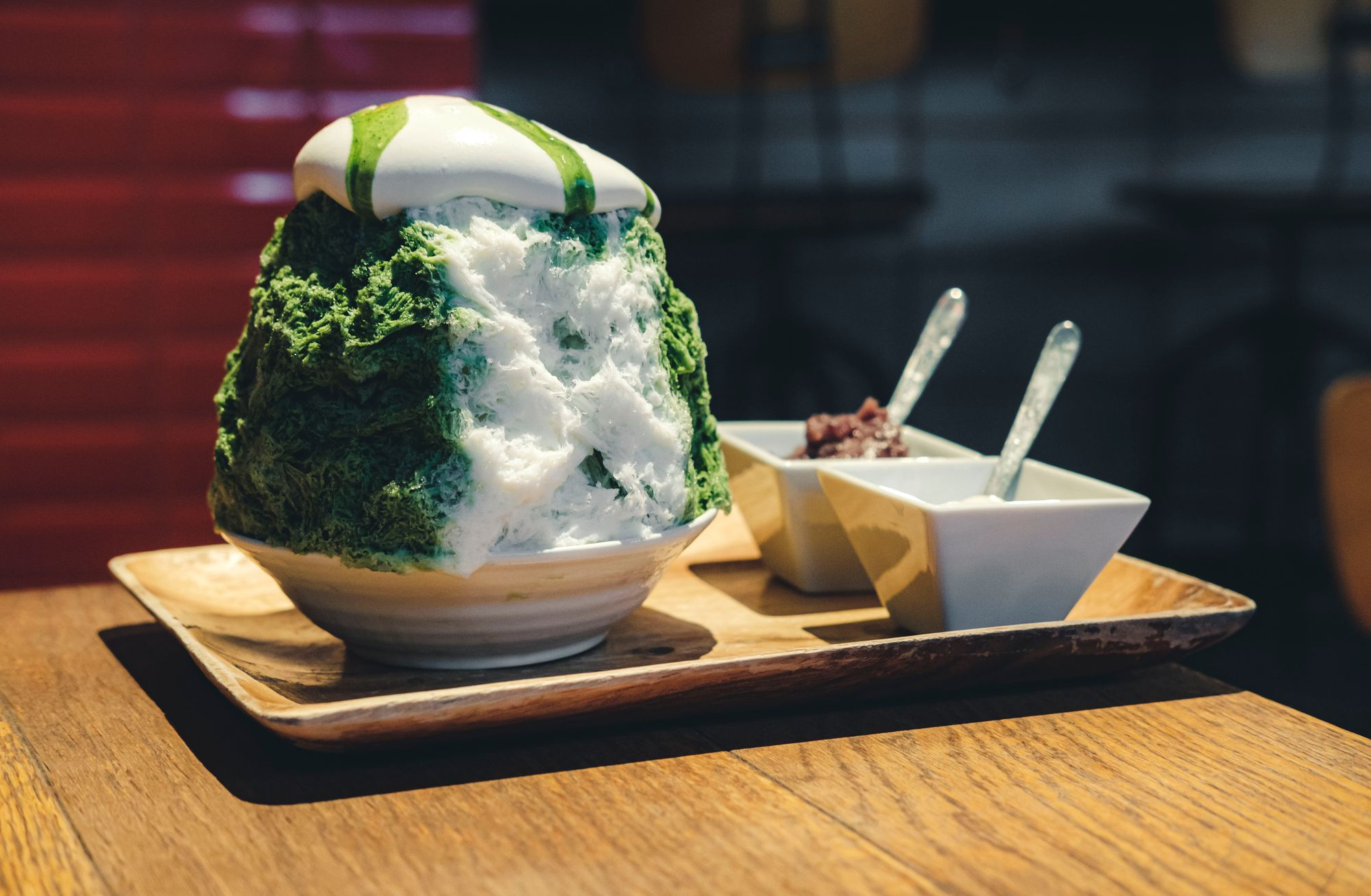 Matcha Kakigori from Yelo