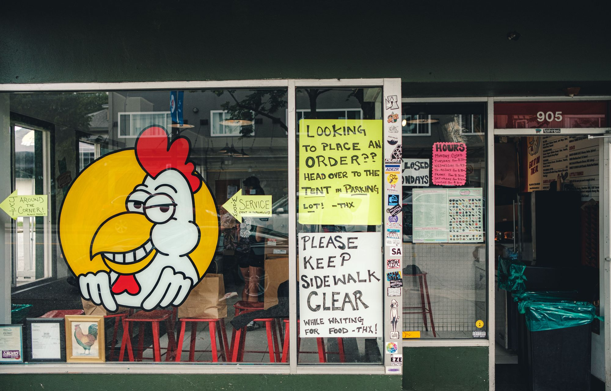 Outside Downlow Chicken Shack