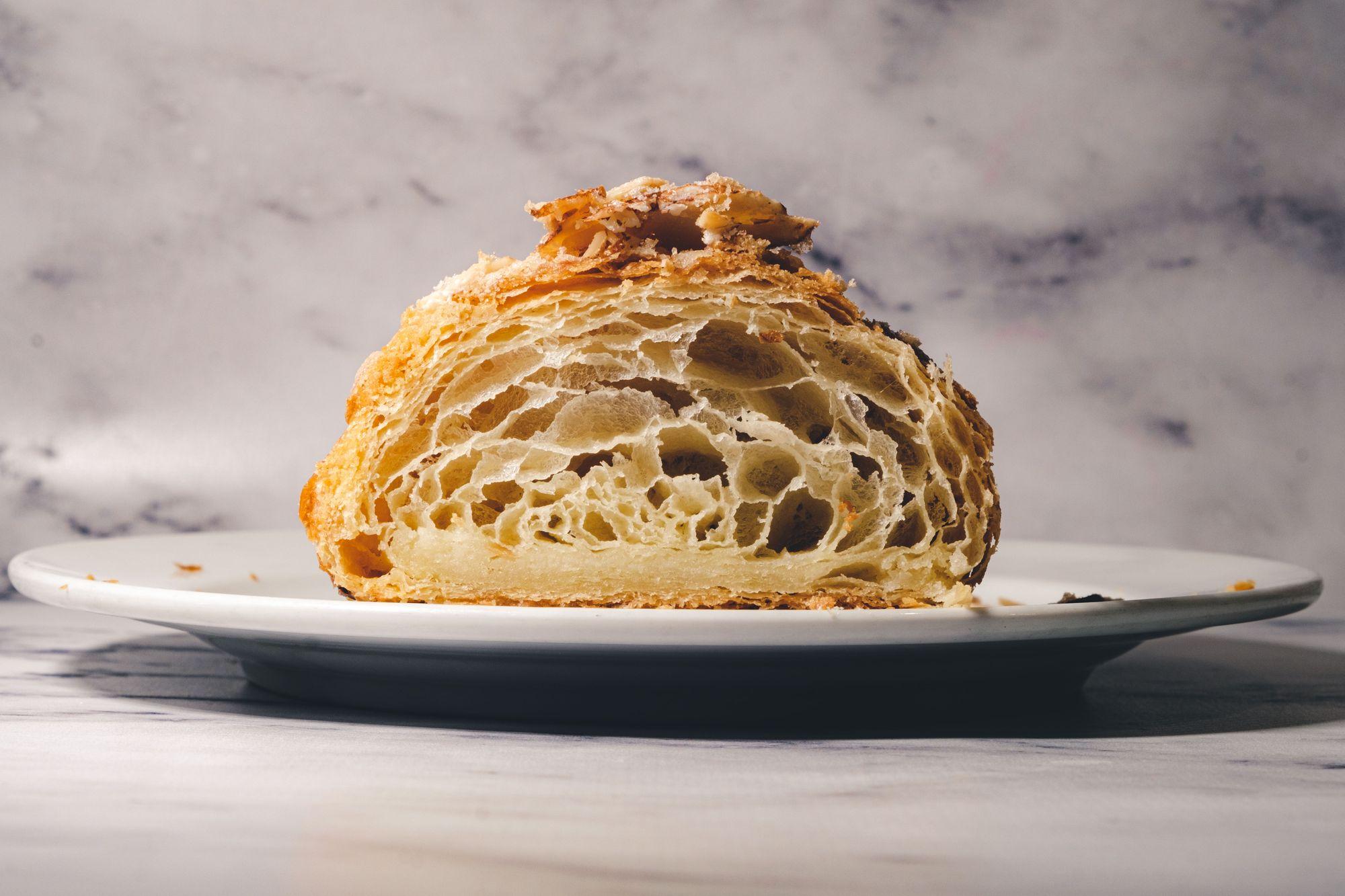 Melo Patisserie Almond Croissant ($5.70) - Cross Section