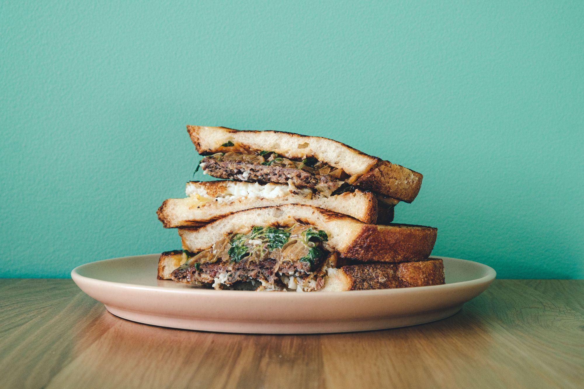 Mad Yolk Sandwich