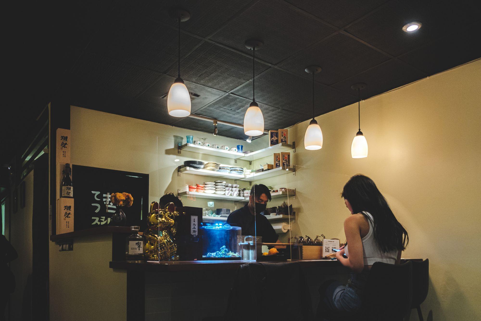Inside Tetsu Sushi Bar