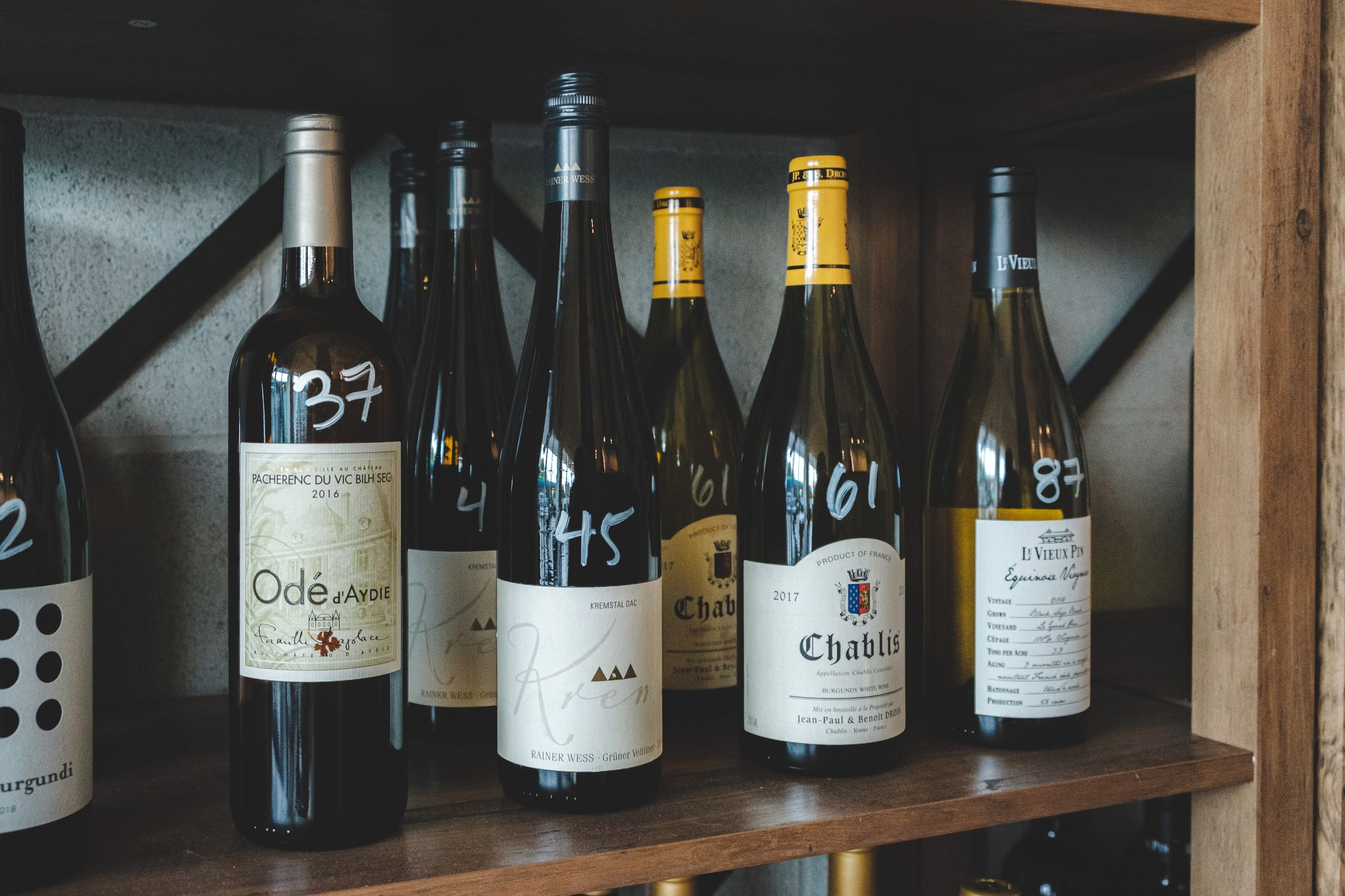 VV's Niche Marketplace Wines