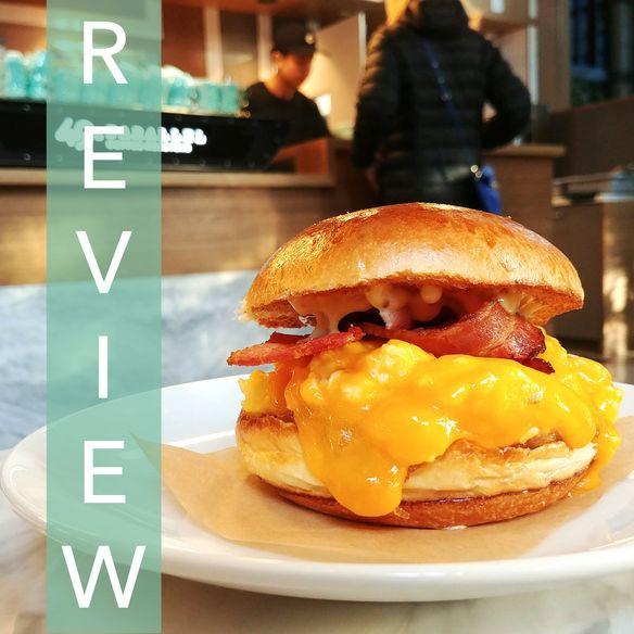 49th Parallel Coffee Roasters – Eggburger [REVIEW]